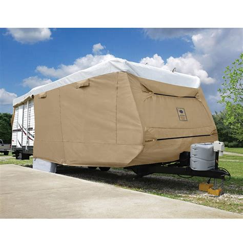 rv slipcovers elements all climate rv cover travel trailer up to 20