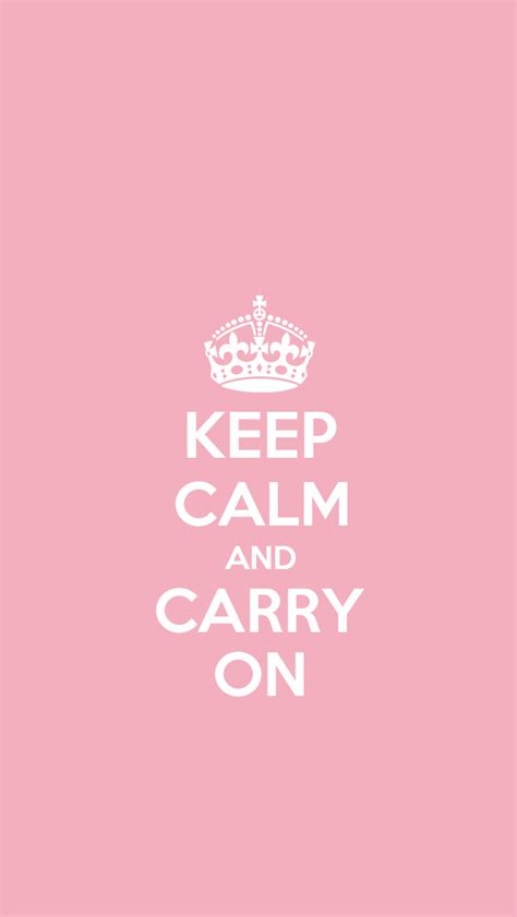 wallpaper for iphone keep calm just peachy designs free quot keep calm and carry on quot iphone