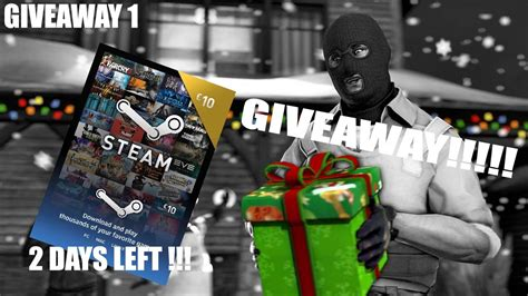 Steam Money Giveaway - giveaway christmas giveaway csgo skins steam money