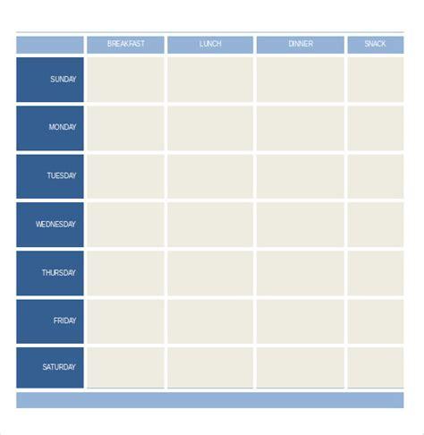weekly menu template word 32 word menu templates free free premium