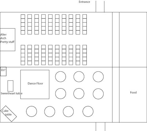 Wedding Ceremony Layout by Ceremony Seating Layout Pictures To Pin On