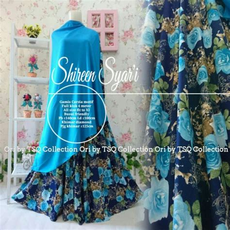 Gamis Shireen gamis cantik shireen syar i carzia baju muslim jumbo