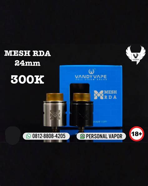 Authentic Iwodevape Vape Band Karet Vape Atomizer Rda Mod distributor vandy vape mesh rda 24mm authentic jual