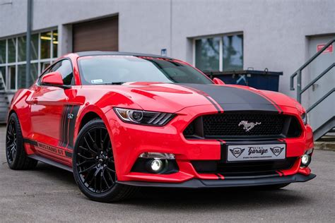 Mustang Auto Rot by Free Photo Mustang Gt Usa Car Auto Free Image