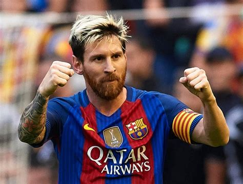 lionel messi to beat cristiano ronaldo and luis suarez to