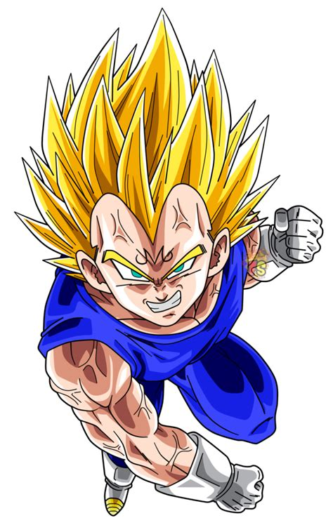 dokkan card template png majin vegeta ssj2 render dokkan battle by