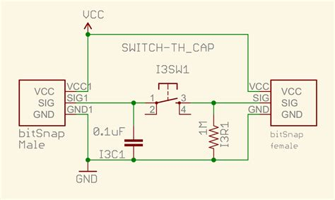 what resistor do i need to discharge a capacitor why do switch bits need a resistor and a capacitor hardware littlebits discussions
