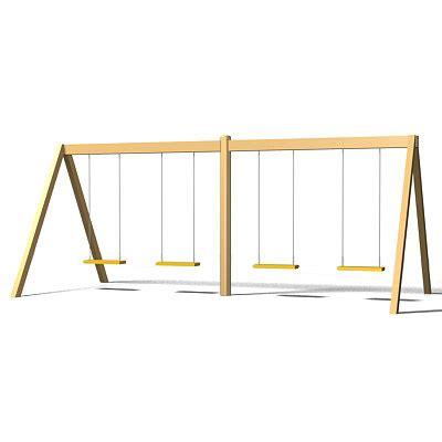swing 3d swing set 3d max