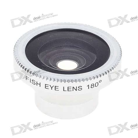 Fisheye Wide Angle Golden Lens 180 Degree For Iphone 4 4s 1 15mm detachable 180 degree wide angle fish eye lens for cell phones and compact digital cameras
