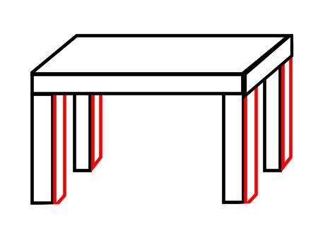 How To Draw A 3d Chair Step By Step by Drawing A Table