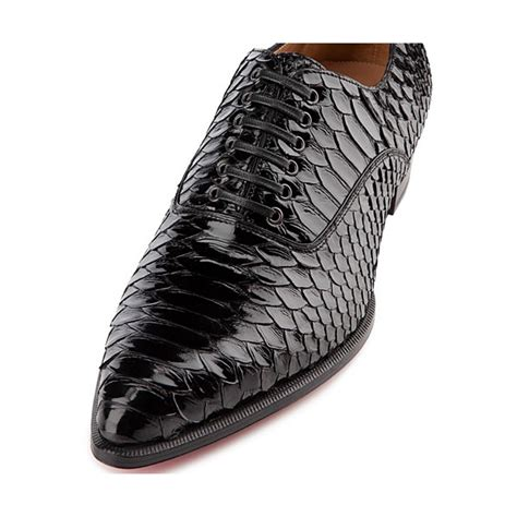christian louboutin mens sneakers cheap christian louboutin platers s flat python