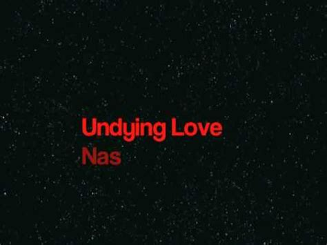 nas undying love undying love by nas youtube