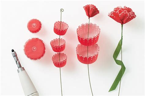 How To Make A Paper Bouquet Of Flowers - diy paper flowers at home with vallee