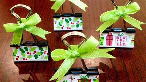 Lets Get Crafty Diy Place Card Holders by How To Make Binder Clip Place Card Holders Diy Crafts