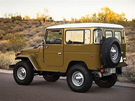Fj55 Interior 1977 Toyota Land Cruiser Fj 40 Sold For Over 100 000