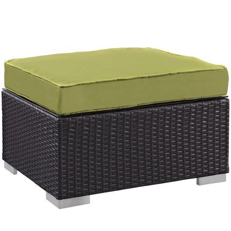 outdoor ottoman moda outdoor ottoman modern furniture brickell collection