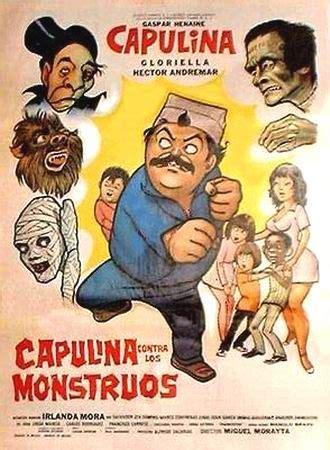 la hojarasca vintage espanol 0307475697 capulina contra los monstruos vintage movie posters spanish los monstruos