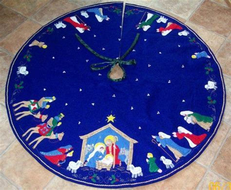 nativity tree skirt tree skirts