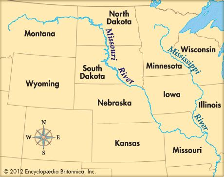 map of usa missouri river missouri river encyclopedia children s homework