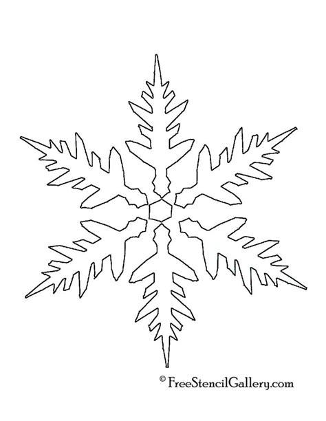 best 25 snowflake stencil ideas on pinterest snowflakes