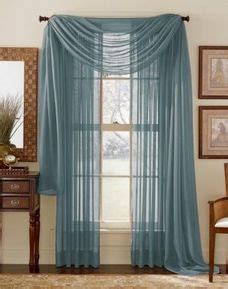 Slate Blue Sheer Curtains Kitchen Window Door Ideas On Pinterest Sheer Curtains Window Scarf And Window Treatments