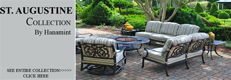 View All Hanamint St Augustine Cast Aluminum Patio Hanamint St Augustine Patio Furniture