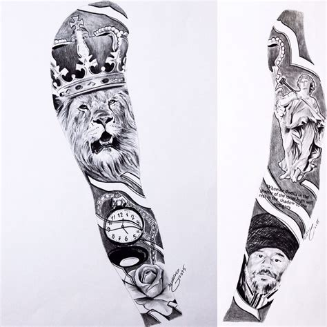 full arms tattoo designs whole sleeve designs drawings pictures to pin on