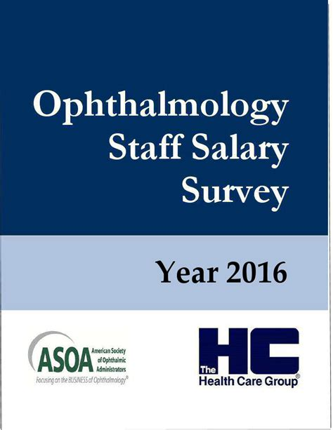 Mba Faculty Salary by Ophthalmology Staff Salary Survey