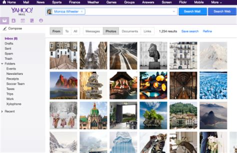 Yahoo Finder Canada Yahoo Mail Gets Smarter More Powerful Search Features In Canada Iphone In Canada