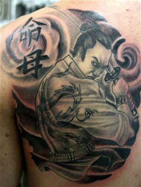 tattoo oriental samurai significado tatuagem de samurai sombreada fotos tatuagem