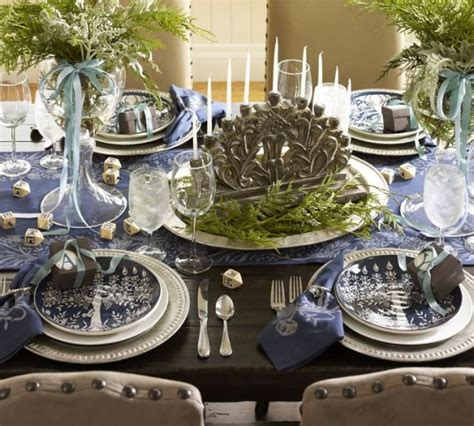 holiday decor ideas 3 hanukkah table settings
