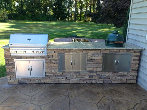 outdoor bbq island kits bret webster built this amazing bbq island with bbq coach