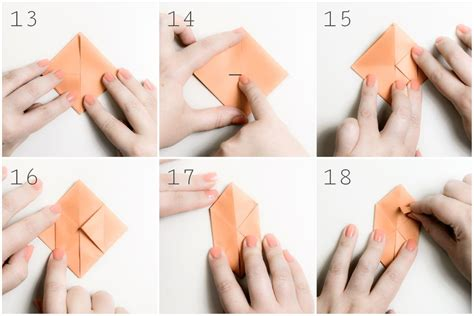 Origami Water - origami water bomb step by step