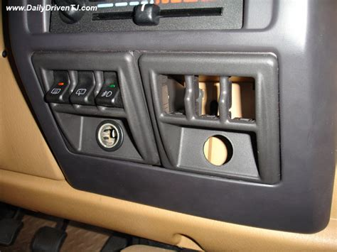 Jeep Tj Switch Panel Switch Mounting Locations Page 2