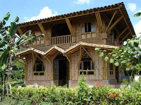 casa bambu casas sostenibles de bamb 250 taringa