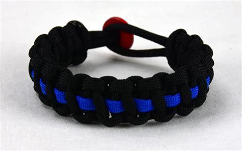 Red And Black Paracord Bracelet   Best Bracelet 2018