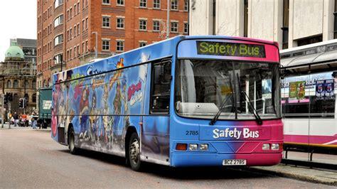 translink safety bus belfast   albert bridge geograph ireland