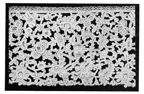 lace pattern types gros point de venice italy