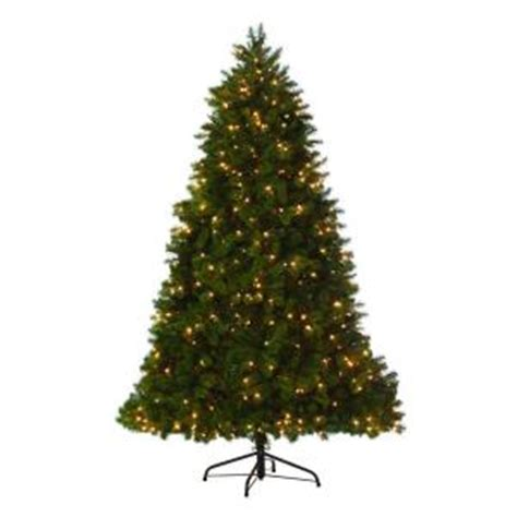 home depot 9 foot douglas fir artificial treee martha stewart living 9 ft indoor pre lit led downswept douglas fir artificial tree