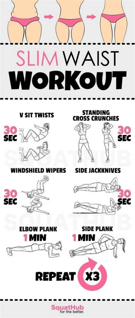 waist toning workouts  full instructions
