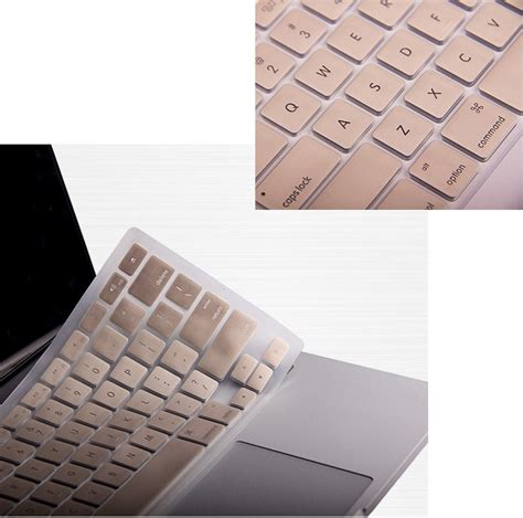 Keyboard Macbook Air 13 chagne gold rubberized keyboard cover macbook pro air retina 11 12 13 15 keyboard