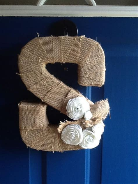 burlap covered letters 20 cool diy cardboard letters hative