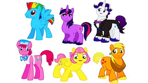my boy color my pony transforms into boys gender