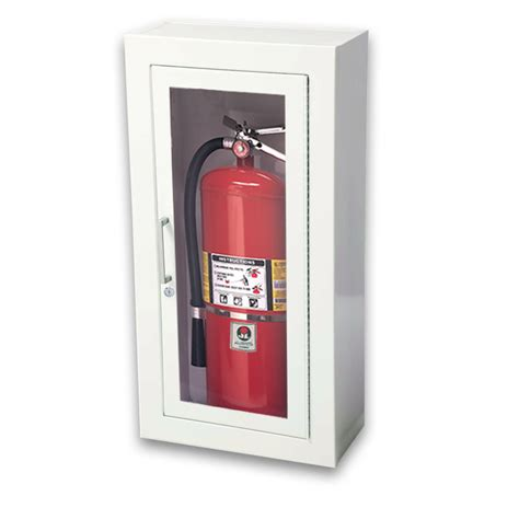 surface mount extinguisher cabinets jl ambassador 1013g10 surface mounted 10 lbs