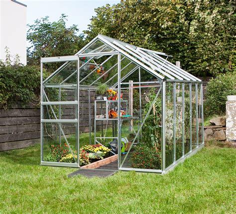 apollo silver  greenhouse horticultural glass