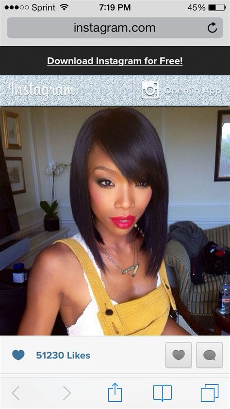 how to cut curly weave into a bob 17 best images about medium length hairstyles on pinterest