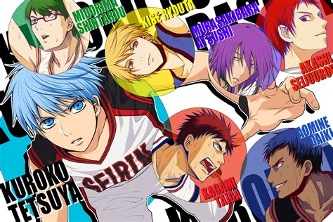official kuroko  basket thread anime onehallyu
