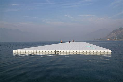 floating piers installation the floating piers