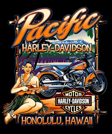 Harley Davidson Designs by Harley Davidson Custom Dealer Backprints By Lambert