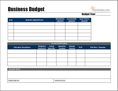 sle business budget template 28 images 28 financial